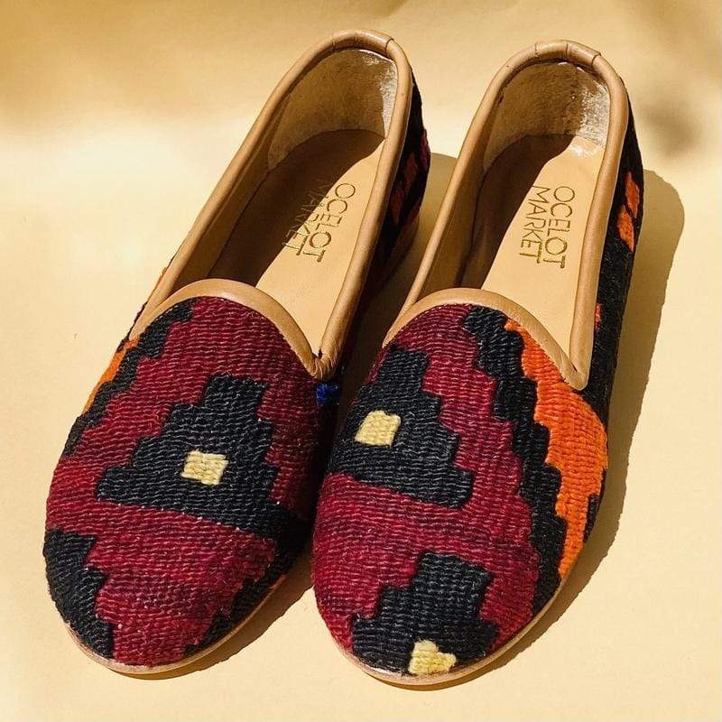 Ocelot Market Women's Turkish Kilim Loafer 10