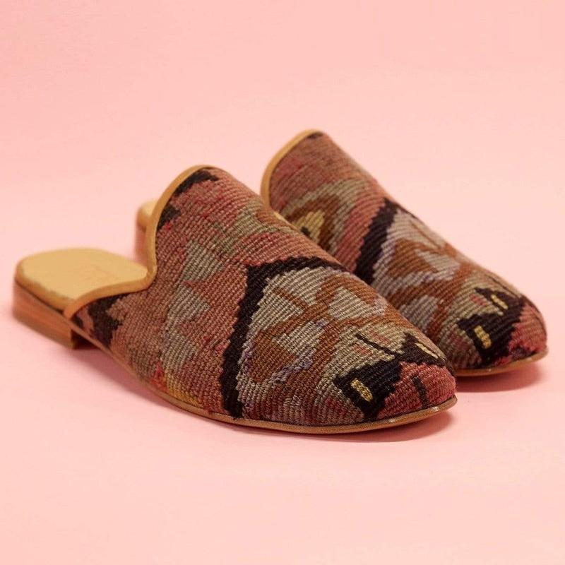 Ocelot Market Turkish Mules Men's Turkish Kilim Mule