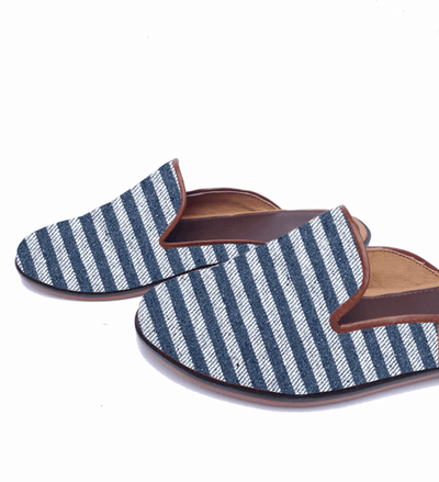 Teysha Slides New Denim Duo Amor Slide