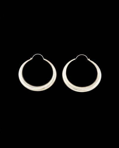 Zig Zag Asian Collection Earrings Simple Hollow Hoop Earring