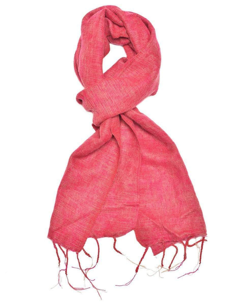 Zig Zag Asian Collection scarves Brushed Woven Scarf in Dusty Pink