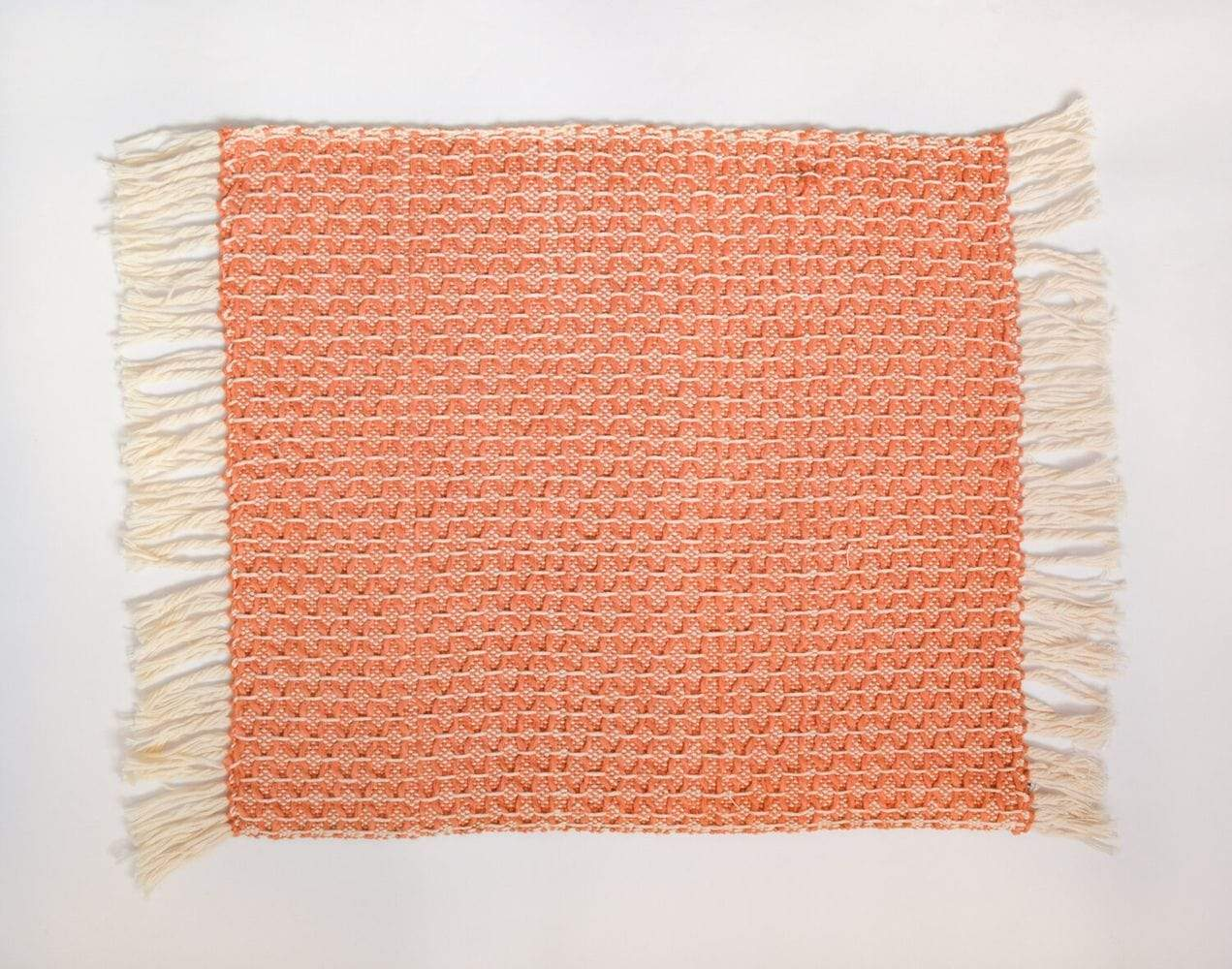 Zuahaza Placemat Diamond Uchuva Orange Placemat