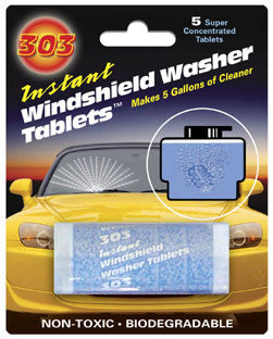 303 Instant Windshield Washer Fluid Tablets