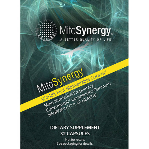 MitoSynergy Advanced Copper-1 Supplement - 32 Capsule Trial Size