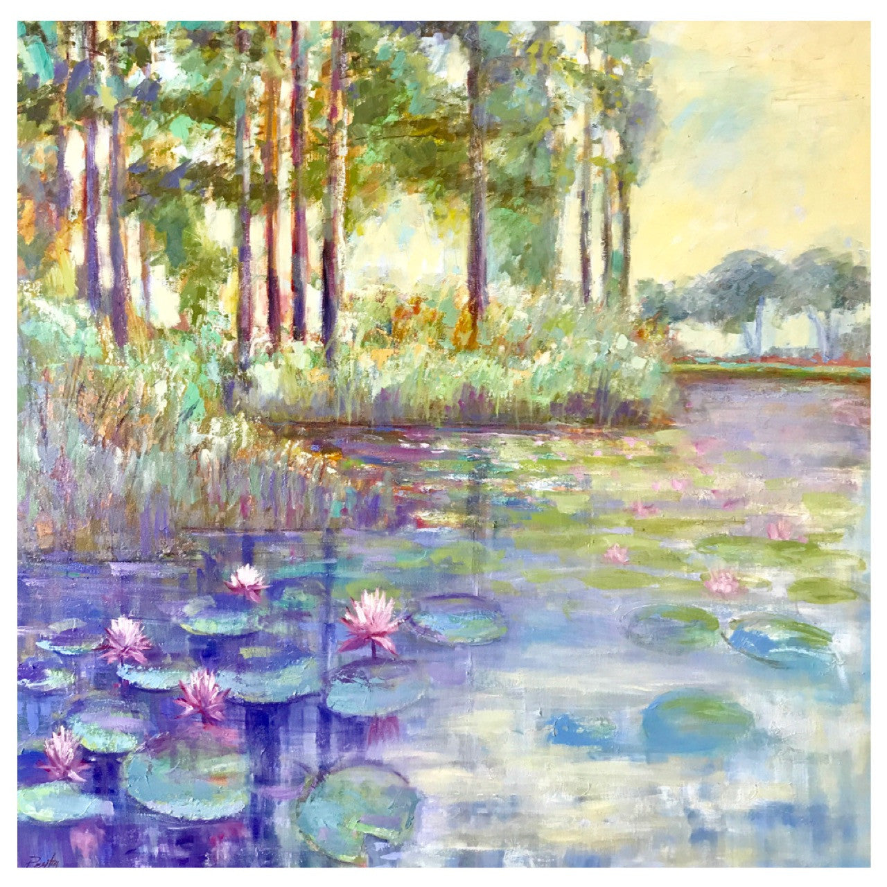 Waterlillies in Watercolor