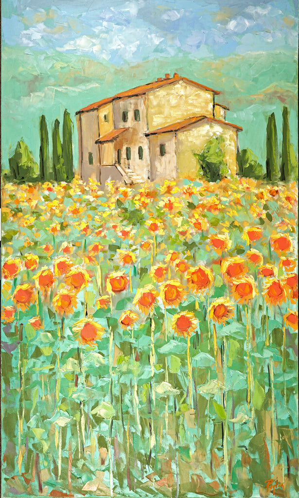 Sunflowers in Provence Prints