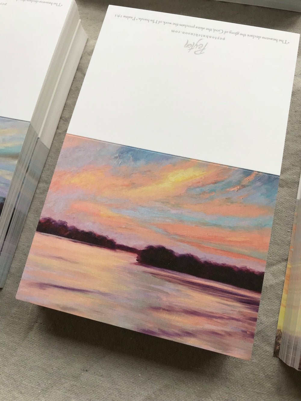 Sunset Series Notecards