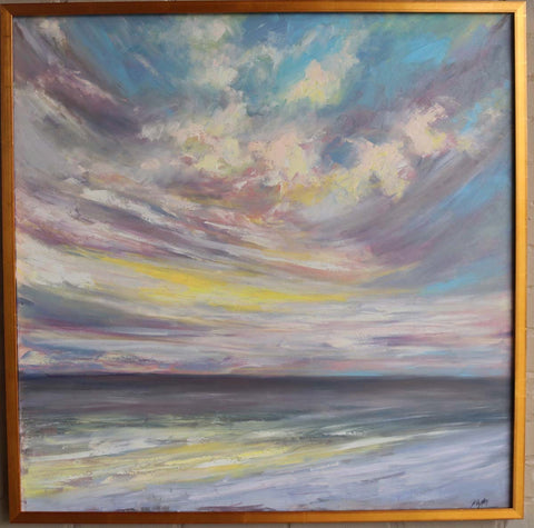 30A Beach Sunset, Size 36 x 36