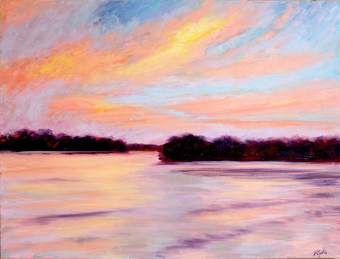 Pink Pickwick Sunset Print