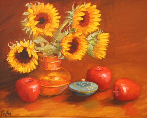 Sunflowers & Apples