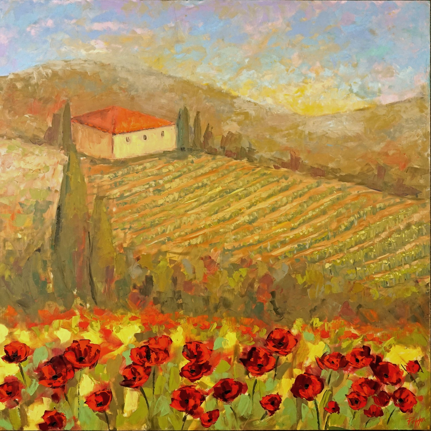 Tuscan Poppies