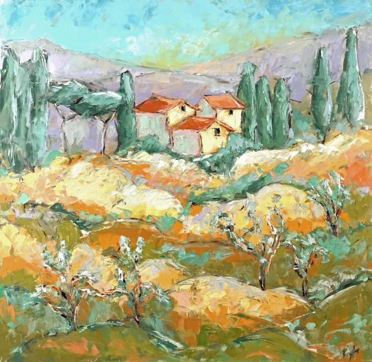 Tuscan Summer II Prints
