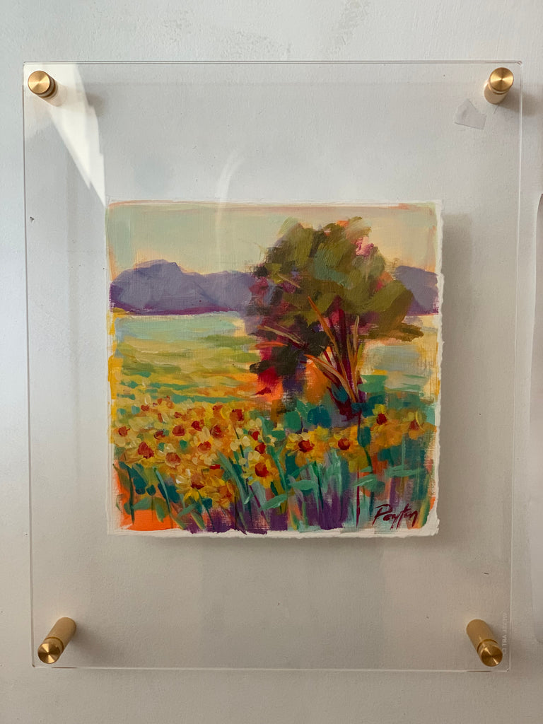 Sunflower Field, Size 15 x 12