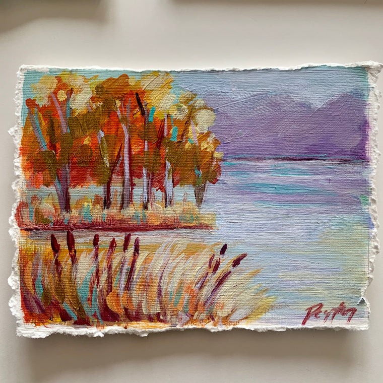Crimson Lake, Size 5 x 7