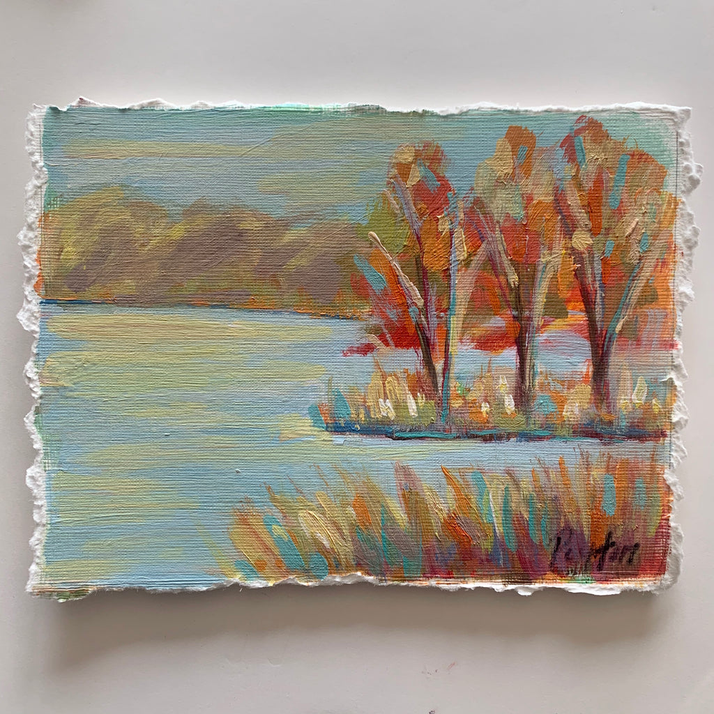 Fall Lake, Size 5 x 7