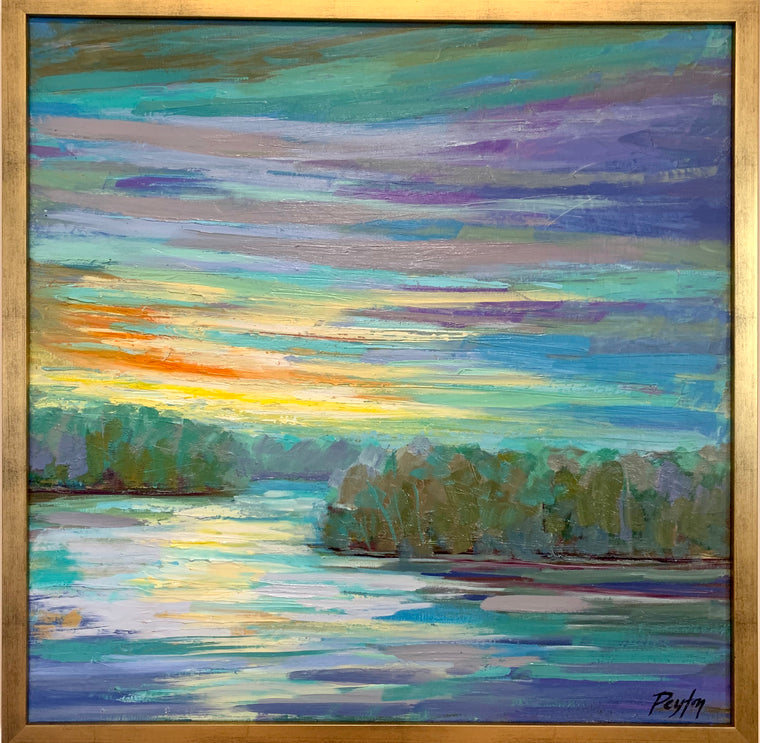 Pickwick Sunset Size 25 x 25