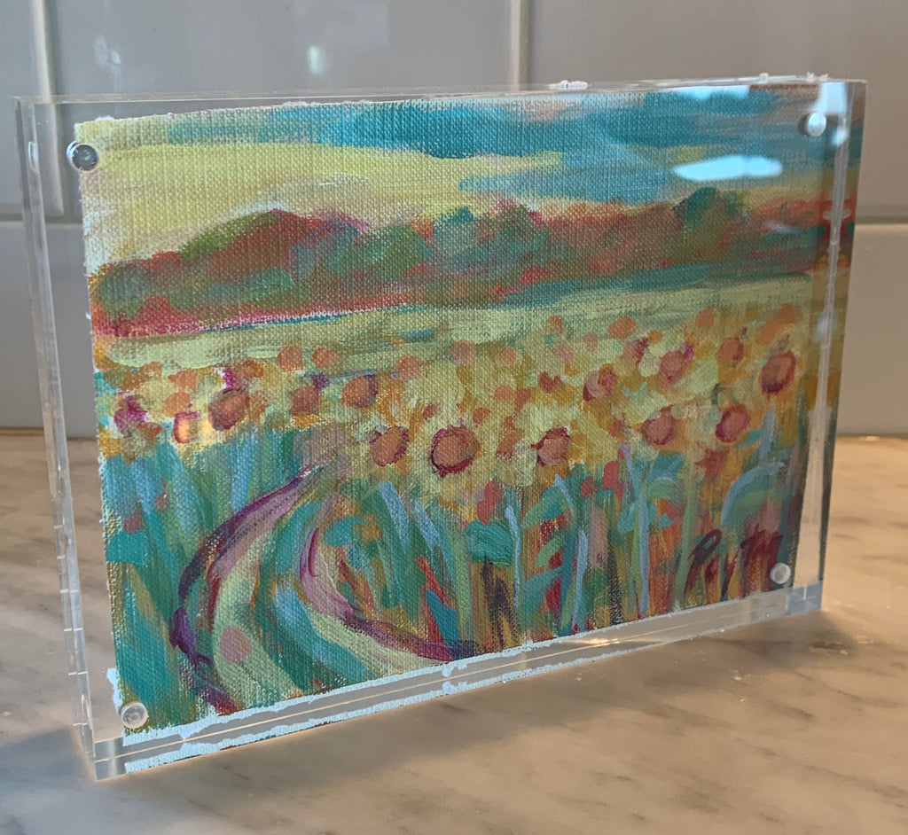 Delta Sunflowers Size 5 x 7