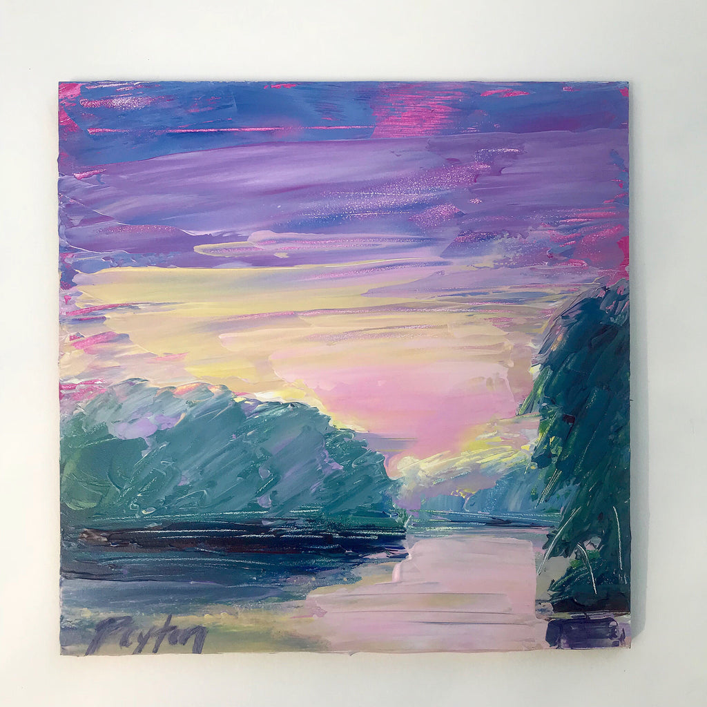 Pickwick Sunset II, Size 6x6