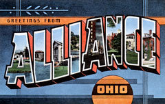 Greetings from Alliance Ohio