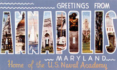 Greetings from Annapolis Maryland