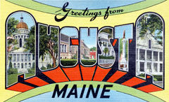 Greetings from Augusta Maine