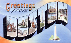 Greetings from Boston Massachusetts