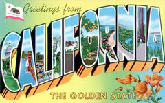 Greetings from california postcards retroamerica greetings from california m4hsunfo