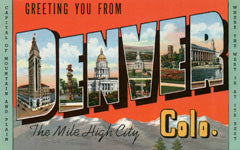 Greetings from Denver Colorado