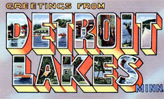 Greetings from Detroit Lakes Minnesota