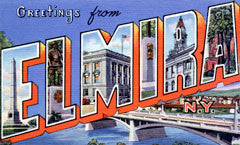 Greetings from Elmira New York