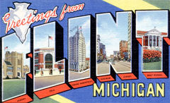 Greetings from Flint Michigan