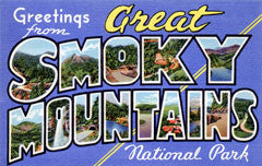 Greetings from Great Smoky Mountains Tennessee