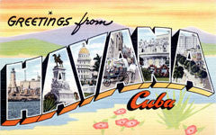 Greetings from Havana Cuba Postcards