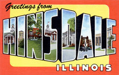 Greetings from Hinsdale Illinois
