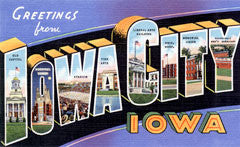 Greetings from Iowa City Iowa