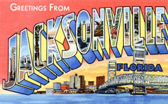 Greetings from Jacksonville Florida
