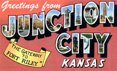 Greetings from Junction City Kansas