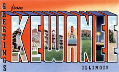 Greetings from Kewanee Illinois