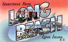 Greetings from Long Beach Long Island New York