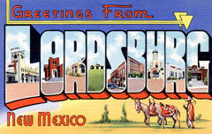 Greetings from Lordsburg Arizona
