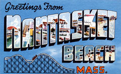 Greetings from Nantasket Beach Massachusetts
