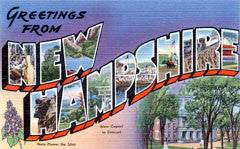 Greetings from New Hampshire Postcards