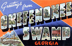 Greetings from Okefenokee Swamp Georgia