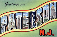 Greetings from Paterson New Jersey