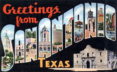 Greetings from San Antonio Texas