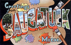 Greetings from Saugatuck Michigan