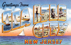 Greetings from Sea Isle New Jersey