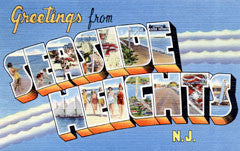 Greetings from Seaside Heights New Jersey