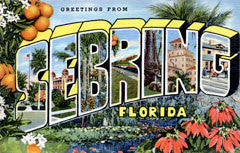 Greetings from Sebring Florida