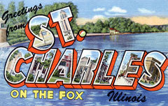 Greetings from St Charles Illinois
